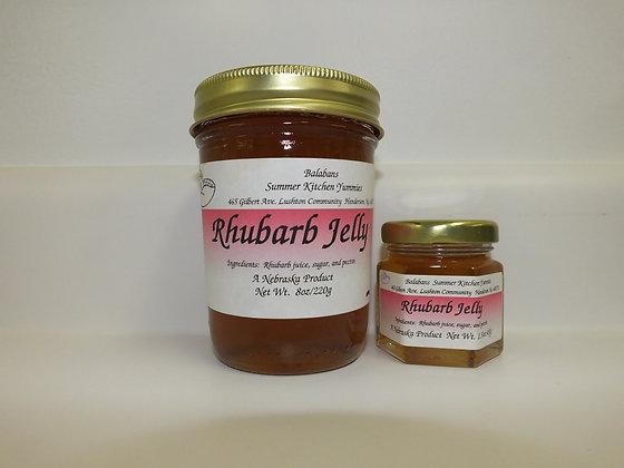 Rhubarb Jelly - 1.5oz.