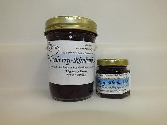 Blueberry - Rhubarb Jam - 1.5oz.