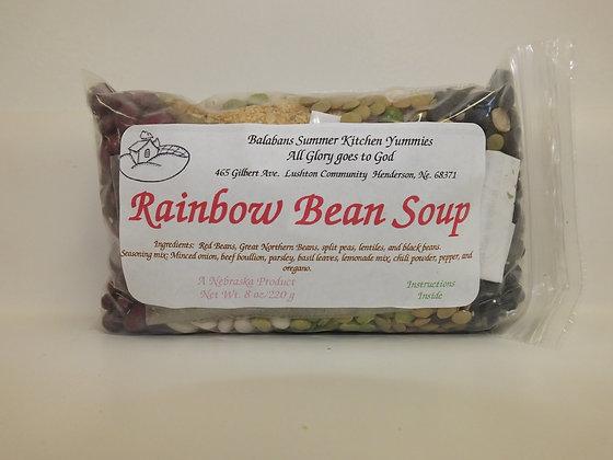 Rainbow Bean Soup Mix - 8oz.