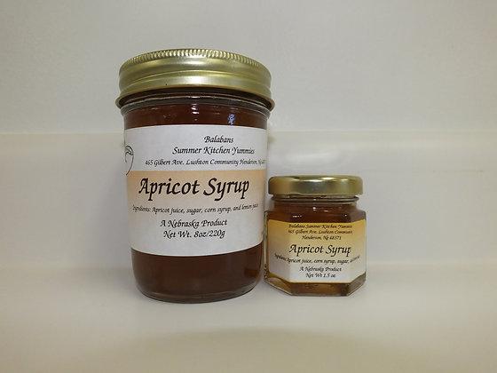 Apricot Syrup - 8oz.