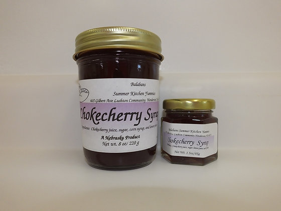 Chokecherry Syrup - 1.5oz.