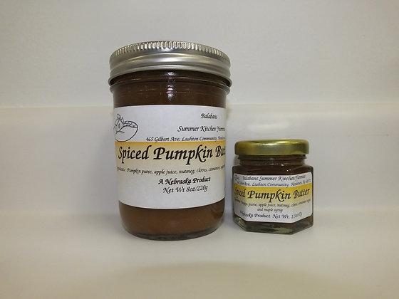 Spiced Pumpkin Butter - 1.5oz.