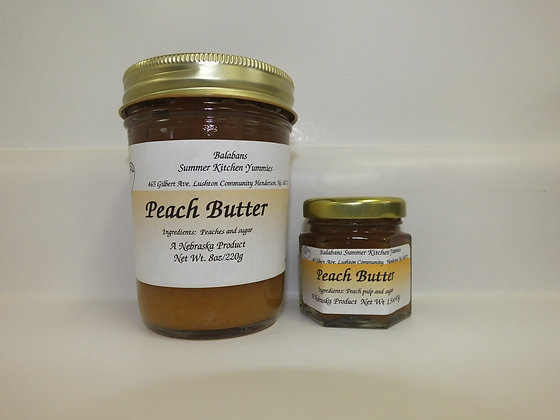 Peach Butter - 8oz.