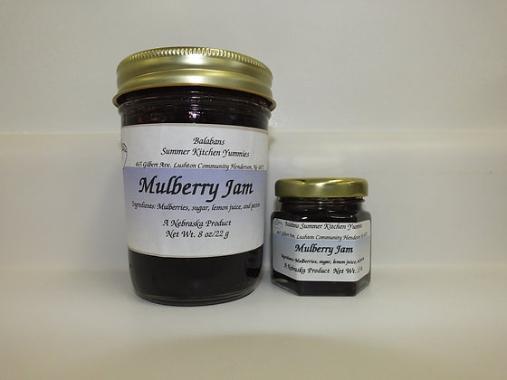 Mulberry Jam - 8oz.