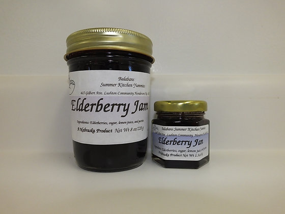 Elderberry Jam - 8oz.