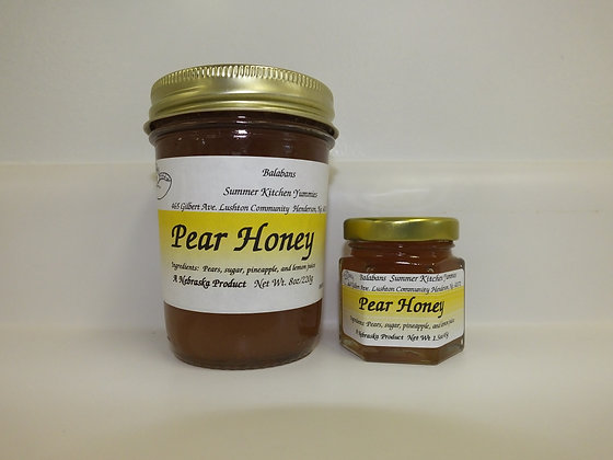 Pear Honey - 1.5oz.