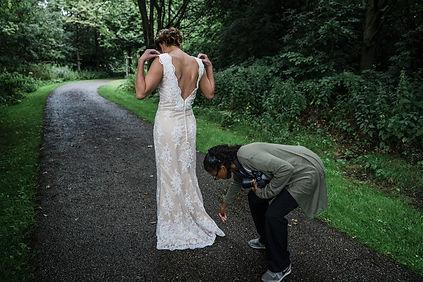 bruiloft in de natuur blank and burnet p