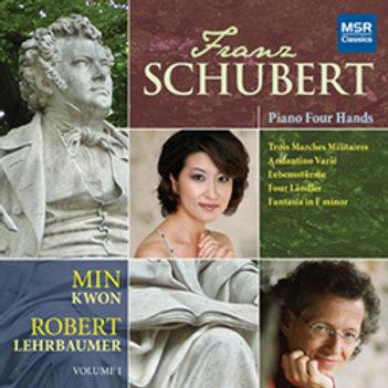 Franz Schubert: Piano Four-Hands (Min Kwon & Robert Lehrbaumer)