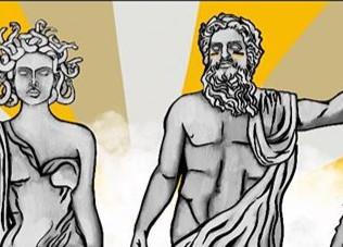 Greek Fan Club - Digital Drawing