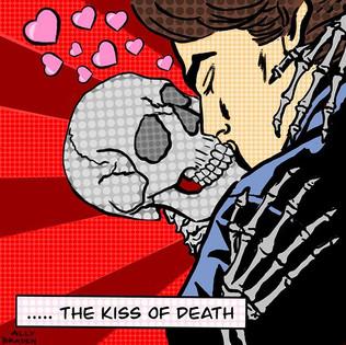 Kiss of Death - Digital Drawing