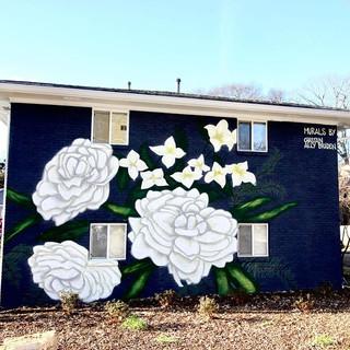 Camilia Murals - Atlanta GA