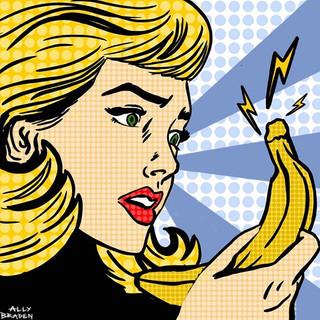 Banana Phone - Digital Drawing