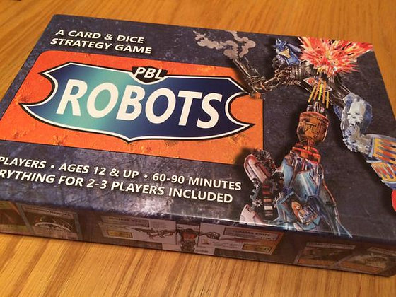 PBL ROBOTS card & dice game