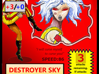 How do Elvin Racers work with Destroyer Sky?