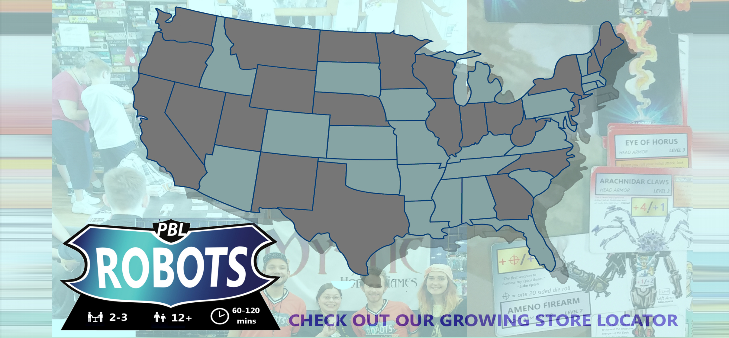 PBL Robots Store Locator