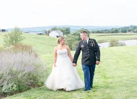 Matt + Hannah | On Sunny Slope Farm Wedding