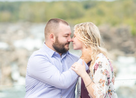 Nathan + Rachel | Great Falls Engagement