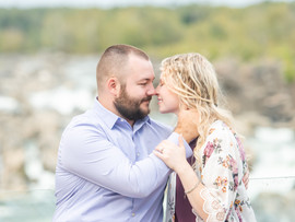 Nathan + Rachel | Great Falls Engagement