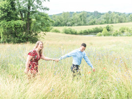 VA Wine Country Engagement Session | Tommy + Samantha