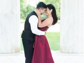 Andres + Faira | Classic DC Engagement