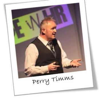 Perry Timms at myHRcareers January networking party!