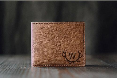 Custom Engraved Men's Wallet