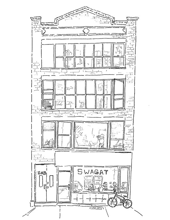 205 West 29th Street illustration for we