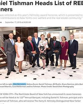 REBNY WINNERS 2018 - Bernstein Real Estate