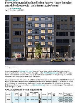 Flow Chelsea, neighborhood's first Passi