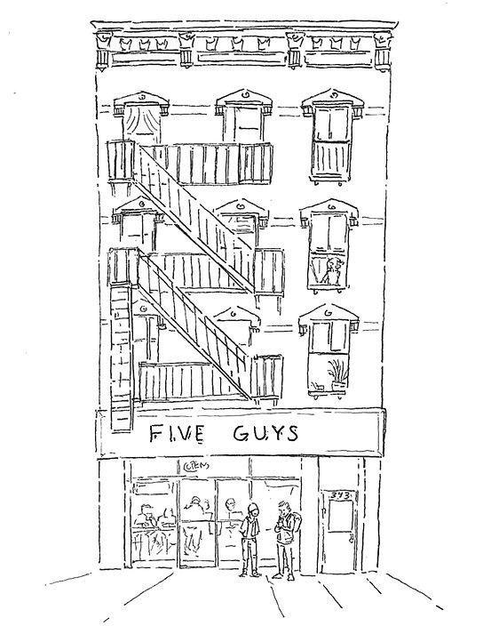 343 7th Avenue illustration for website.
