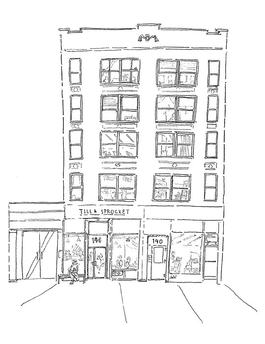 140 West 30th Street illustration for we