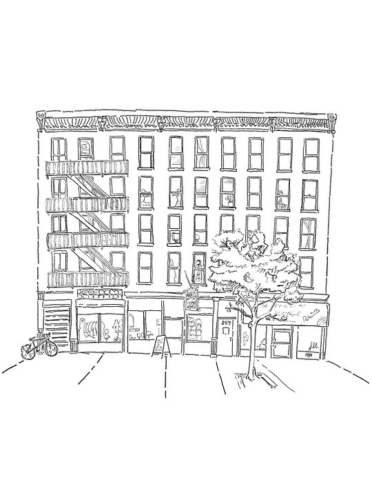 147 West 29th Street illustration for We