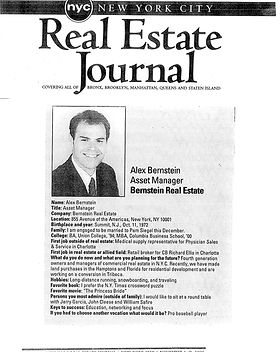 NY Real Estate Journal - Bernstein Real Estate