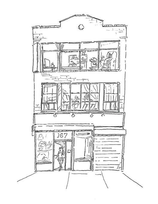 167 West 29th Street illustration for we