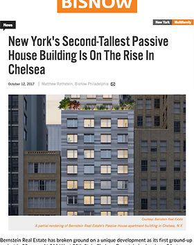 BisNow - Bernstein Real Estate