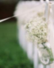 El pasillo de la boda