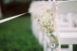 Florale Hochzeitsdekoration