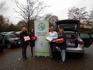 Schulzentrum Melle-Buer unterstützt auch in diesem Jahr den Weihnachtspäckchenkonvoi