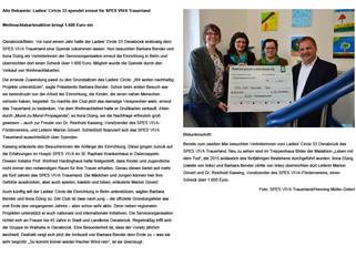 Spende an das Spes Viva Trauerland in Belm