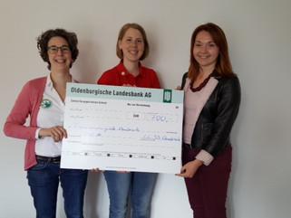 Spende an die Frauenberatungsstelle Osnabrück