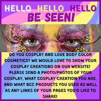 Cosplayers send us your cool pics of you using BCC!