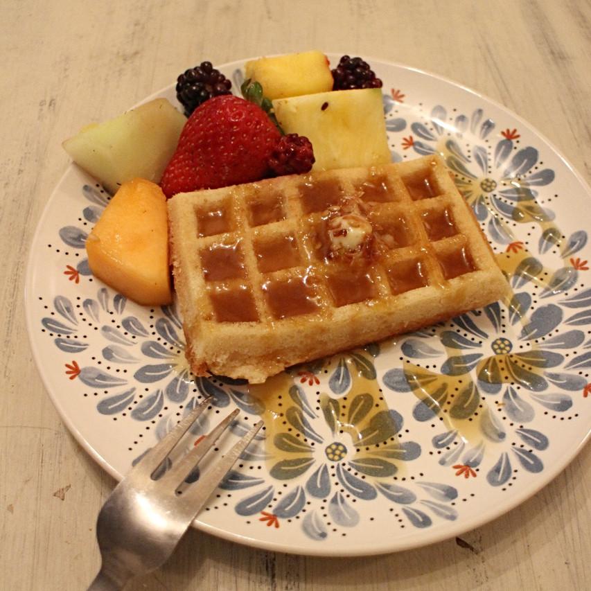 Chia & Flax Seed Waffles