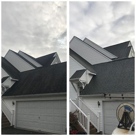 Moorestown NJ Roof cleaning