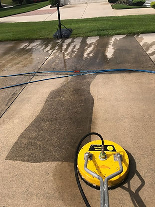 concrete claning south jersey, pressure washing concrete