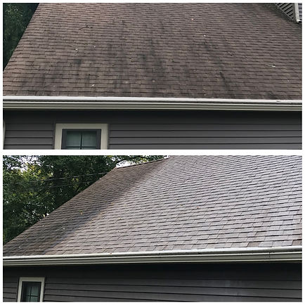 Cherry Hill Roof cleaning