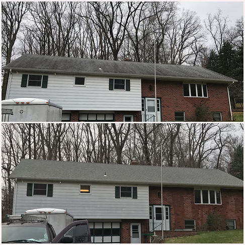 Roof cleaning Cherry Hill NJ