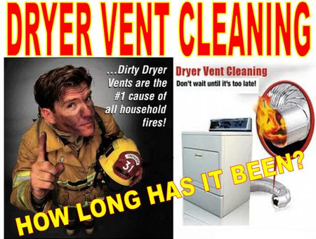 Dryer Vent Danger