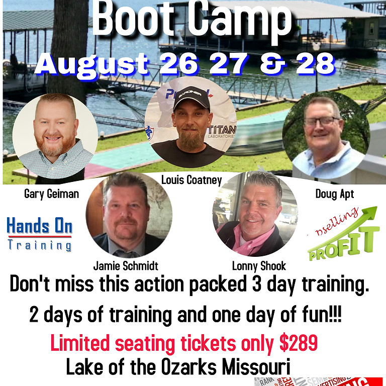 Lake of the Ozarks Boot Camp
