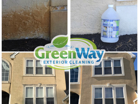 Moorestown Pressure Washing - How to clean stucco