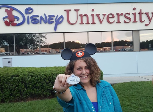 Brother at Disney World